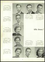 1957 Leechburg High School Yearbook Page 32 & 33