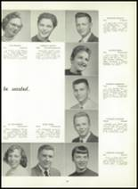 1957 Leechburg High School Yearbook Page 36 & 37