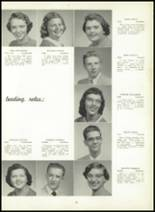1957 Leechburg High School Yearbook Page 38 & 39