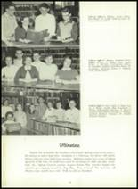 1957 Leechburg High School Yearbook Page 58 & 59