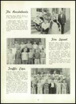 1957 Leechburg High School Yearbook Page 66 & 67