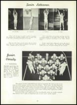 1957 Leechburg High School Yearbook Page 92 & 93