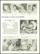 1953 Capitol Hill High School Yearbook Page 42 & 43