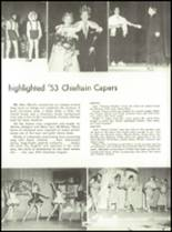 1953 Capitol Hill High School Yearbook Page 52 & 53