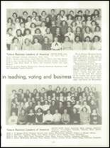 1953 Capitol Hill High School Yearbook Page 98 & 99