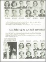 1953 Capitol Hill High School Yearbook Page 110 & 111