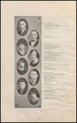 1925 East High School Yearbook Page 10 & 11