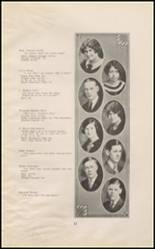 1925 East High School Yearbook Page 12 & 13