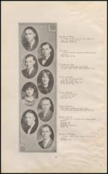 1925 East High School Yearbook Page 14 & 15