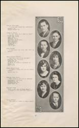 1925 East High School Yearbook Page 18 & 19