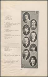 1925 East High School Yearbook Page 20 & 21