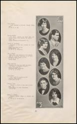 1925 East High School Yearbook Page 26 & 27