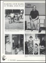 1993 Canute High School Yearbook Page 16 & 17