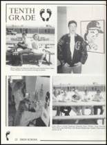 1993 Canute High School Yearbook Page 30 & 31