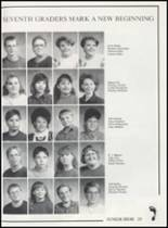 1993 Canute High School Yearbook Page 36 & 37