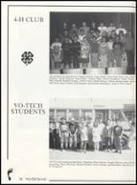 1993 Canute High School Yearbook Page 66 & 67