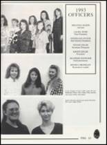 1993 Canute High School Yearbook Page 70 & 71