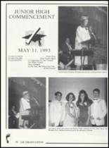 1993 Canute High School Yearbook Page 78 & 79