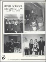 1993 Canute High School Yearbook Page 80 & 81
