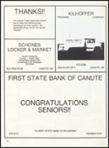 1993 Canute High School Yearbook Page 86 & 87