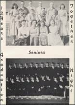 1957 Wilbur High School Yearbook Page 10 & 11