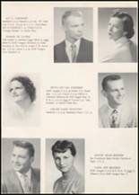 1957 Wilbur High School Yearbook Page 12 & 13