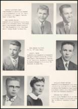 1957 Wilbur High School Yearbook Page 16 & 17