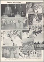 1957 Wilbur High School Yearbook Page 20 & 21