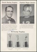 1957 Wilbur High School Yearbook Page 24 & 25
