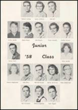 1957 Wilbur High School Yearbook Page 34 & 35