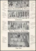 1957 Wilbur High School Yearbook Page 36 & 37
