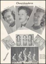1957 Wilbur High School Yearbook Page 42 & 43