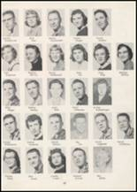 1957 Wilbur High School Yearbook Page 48 & 49
