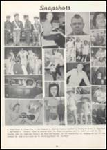 1957 Wilbur High School Yearbook Page 58 & 59