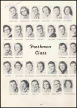 1957 Wilbur High School Yearbook Page 62 & 63