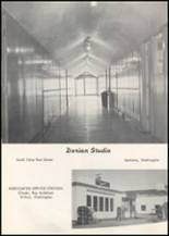 1957 Wilbur High School Yearbook Page 74 & 75