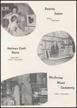 1957 Wilbur High School Yearbook Page 76 & 77