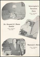 1957 Wilbur High School Yearbook Page 82 & 83