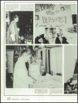 1990 West Potomac High School Yearbook Page 106 & 107