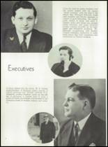 1939 Central High School Yearbook Page 10 & 11