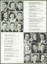 1939 Central High School Yearbook Page 34 & 35