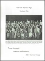 1973 Penn Highlands High School Yearbook Page 166 & 167