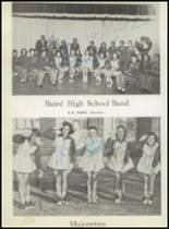 1957 Baird High School Yearbook Page 52 & 53