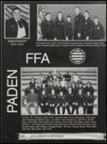 2002 Paden High School Yearbook Page 38 & 39