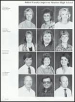 1989 Stratton High School Yearbook Page 16 & 17