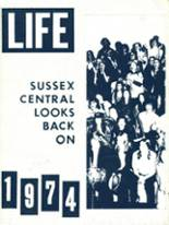 1974 Yearbook Sussex Central High School