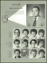 1980 Clyde High School Yearbook Page 24 & 25