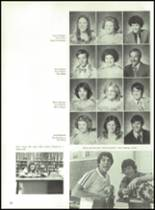 1980 Clyde High School Yearbook Page 42 & 43