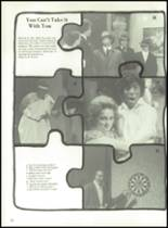 1980 Clyde High School Yearbook Page 56 & 57