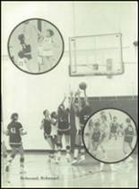 1980 Clyde High School Yearbook Page 102 & 103